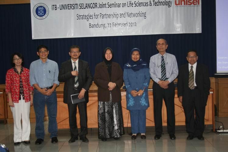 ITB-Universiti Selangor Joint Seminar On Life Sciences & Technology