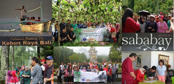 Kunjungan Agroindustri dan Konservasi ke Bali