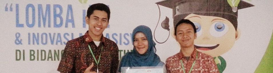 Mahasiswa Prodi Rekayasa Hayati SITH-ITB Meraih Juara Harapan 1 Lomba Ide dan Inovasi