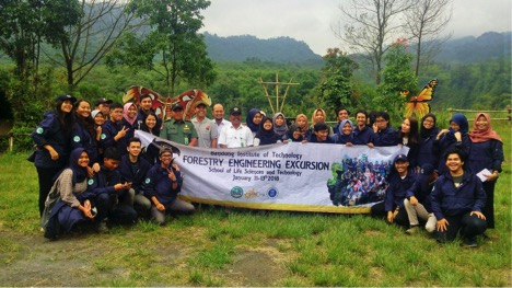 4th Forestry Engineering Excursion Program 2018 The Introduction of Science and Profession of Forestry Engineering