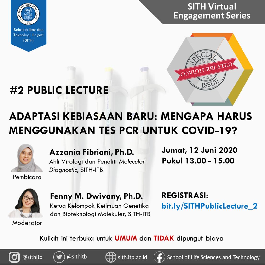 SITH VIRTUAL ENGAGEMENT SERIES Virtual Public Lecture Series #2